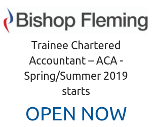 ACA Accountancy at Bishop Fleming