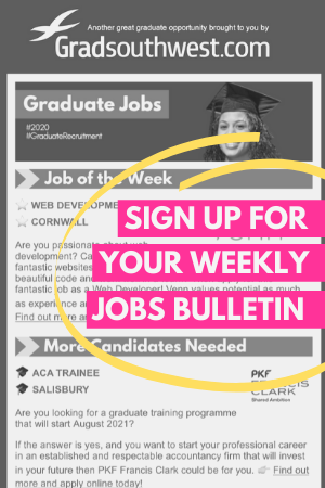 Register for Graduate Jobs Bulletin