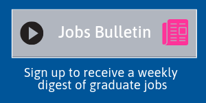 Sign of for Jobs Bulletin