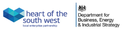 Logo: Heart of the south west LEP